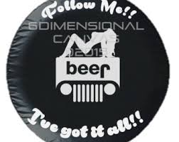 jeep beer tire cover butterfly hibs jeep crv hummer3 spare tire cover