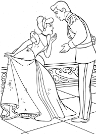 cinderella coloring pages games coloring