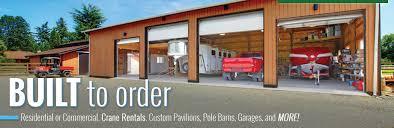 custom home garage magnificent pole barn house construction company in clarkston mi