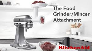 Kitchen Aid Grinder Attachment Make Your Own Mince From Scratch Using The Kitchenaid Food