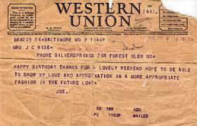 happy birthday telegrams comes by telegram nose