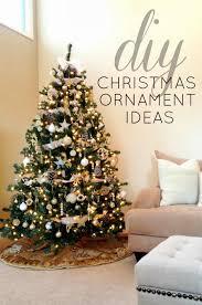 tree ornament ideas lights decoration