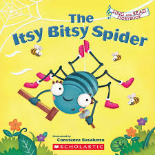 the itsy bitsy spider by scholastic