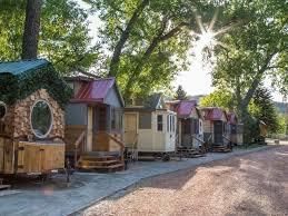 tiny house vacation in colorado springs co weecasa tiny house resort colorado com
