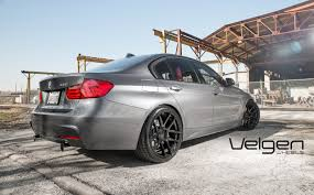 custom black bmw bmw f30 velgen wheels vmb5 gloss black 20x9 u0026 20x10 5