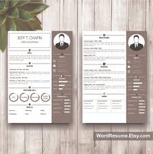 resume exles for it professionals 2 professional resume template design jeff t chafin creative
