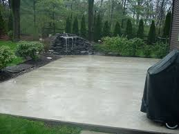 Backyard Stamped Concrete Patio Ideas Patio Ideas Backyard Cement Patio Ideas Custom Colored Concrete