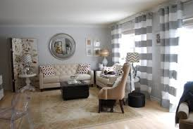 Grey White Striped Curtains Pink And Grey Striped Curtains Home Design Ideas