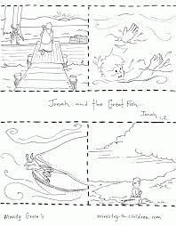 free jonah coloring page coloring home