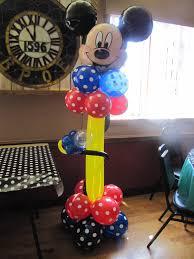 mickey mouse balloon arrangements balloon decorations for mickey mouse amytheballoonlady