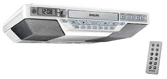 under cabinet stereo cd player kitchen clock radio aj6111 37 philips