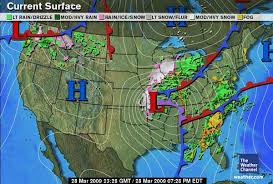 weather fronts map weather lesson for the day occluded front