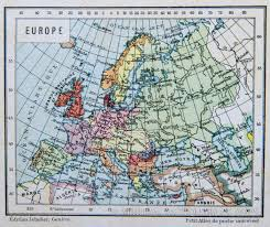 World Map Of Europe by Map Of Europe 1890