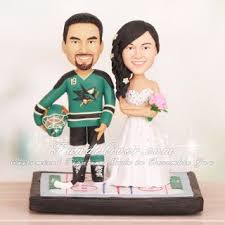 hockey cake toppers san jose sharks hockey wedding cake toppers