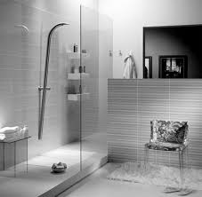 Futuristic Kitchen by Bathroom Small Bathroom Whith Glass Showers Enclosure With