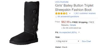 ugg boots sale amazon s and shoe size conversion chart save big buying