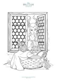 maleficent activity sheets coloring pages