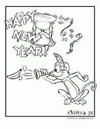 new year u0027s coloring pages happy new year coloring printable
