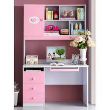 Pink Computer Desk Suite Matching Pink Rectangular Desk Computer Bedroom