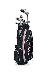 amazon com confidence golf mens power hybrid club set u0026 stand