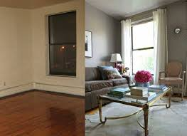 home interior redesign small repairs and room makeovers for home staging before and