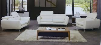 savoy piece italian top grain off white leather sofa set