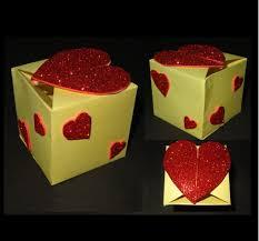 paper crafts gift box tutorial beautiful valentine u0027s day heart