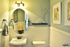kitchen colors with dark brown cabinets powder room living