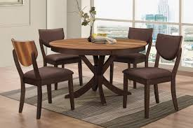 round dining room table for 4 turner round dining table 4 side chairs