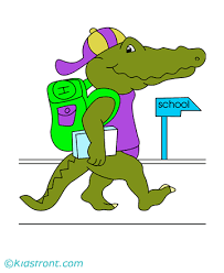 baby alligator coloring pages kids color print