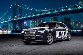 wrapped rolls royce connor mcgregor custom rolls royce ghost in nyc the versatile gent