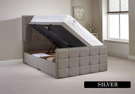 4ft Ottoman Beds Uk Furniture Pembroke 4ft 6 Fabric Ottoman Bed