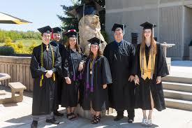 college cap and gown purdue northwest commencement exercises at westville may 8 2017