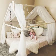 Wooden Bed Frame Double by Wood Bed Full Double Toddler Bed Tent Bed Wooden House Bed