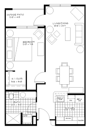 one bedroom apartment plan awesome 1 bedroom apartment plans contemporary liltigertoo com