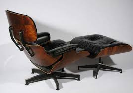 Used Eames Lounge Chair Original Rosewood And Grey Leather Eames Lounge Chair And Ottoman