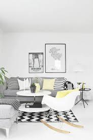 Neubau Wohnzimmer Einrichten Einrichten Schwarz Weiss Gelb Wohnzimmer Einrichten Ideen In Weiss