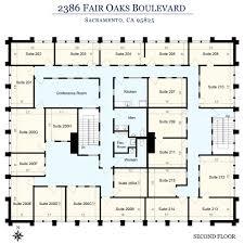 floor plan 2nd floor executive office leasing in sacramento ca
