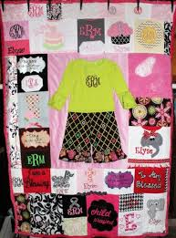 memory clothes diy baby clothes memory quilt pattern tutorial