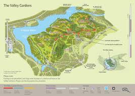 Virginia Area Code Map by The Valley Gardens Virginia Water Lake Windsor Great Park