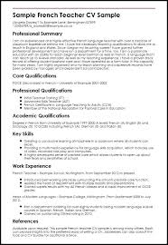 sample resume language skills police officer resume example