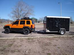 jeep wrangler cargo trailer lost jeeps view topic what size cargo trailer do you use with