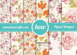 floral gift wrapping paper howcrafts floral wrapping paper downloadable pdf for unlimited prints