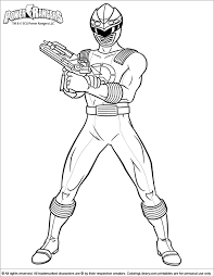 power ranger pictures color kids coloring