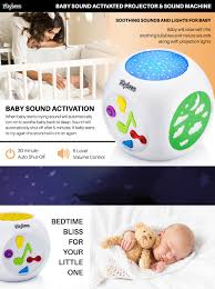 Baby Ceiling Light Projector by Amazon Com Playbees Baby Sound Machine U0026 Star Projector Night