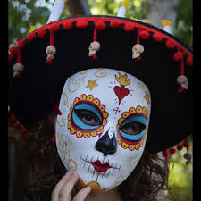 la muerte costume la muerte the book of mask hat from hikaridesign