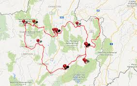 Map My Route Driving by 1 500km In 8 Days My Epic Scooter Trip Around Northern Thailand