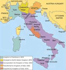 map of italy images italian unification map risorgimento italy