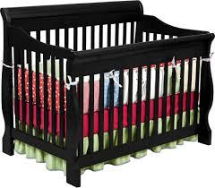 Black Convertible Crib by Delta Children Canton 4 In 1 Convertible Crib In Black Baby