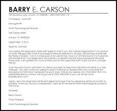 resignation letter with regret resignation letters livecareer